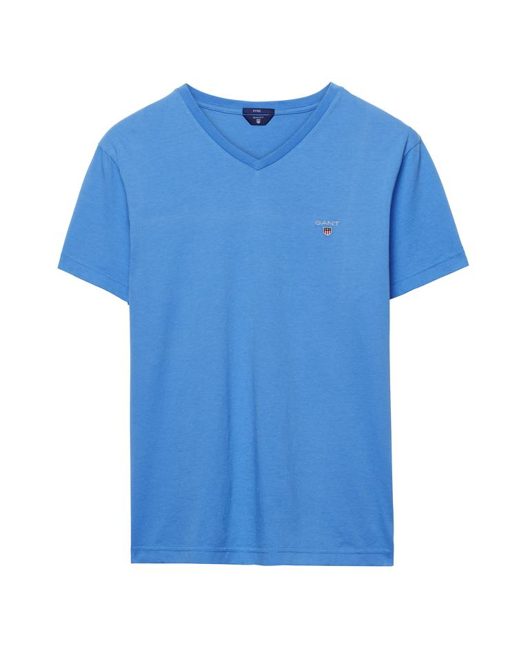 Erkek Mavi Slim Fit Tshirt