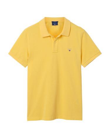 Erkek Sarı Regular Pike Polo