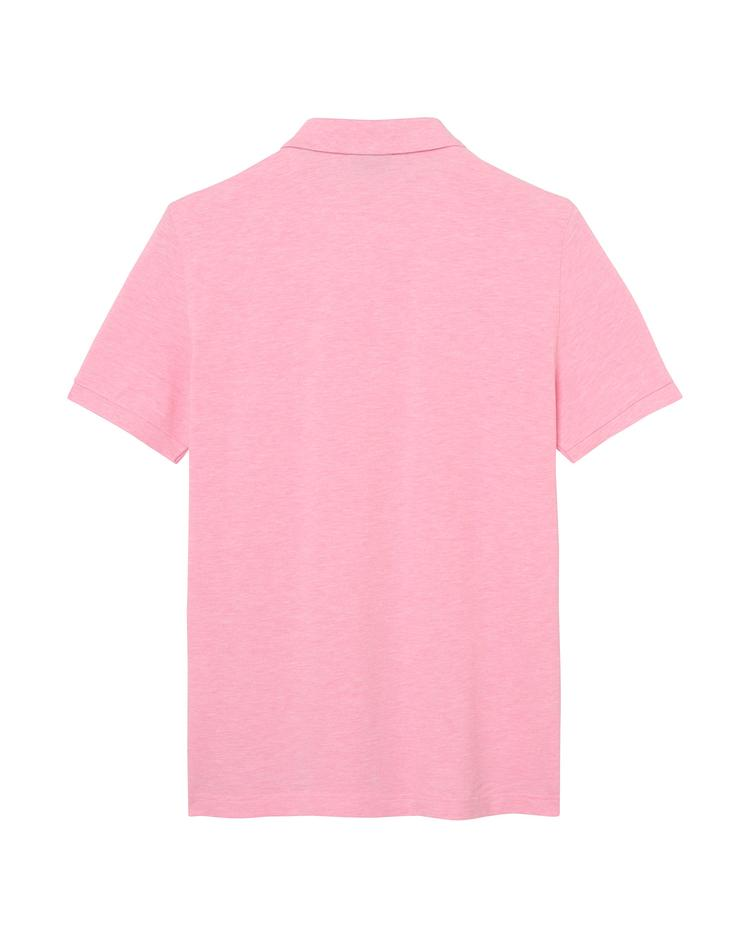 Erkek Pembe Regular Pike Polo
