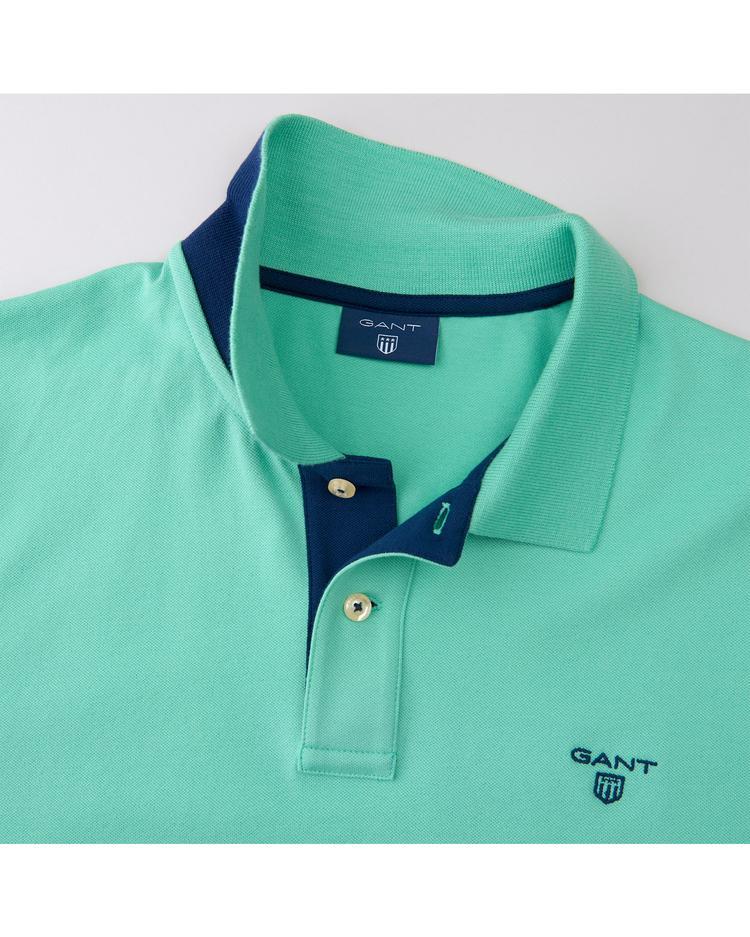 Erkek Yeşil Fitted Polo