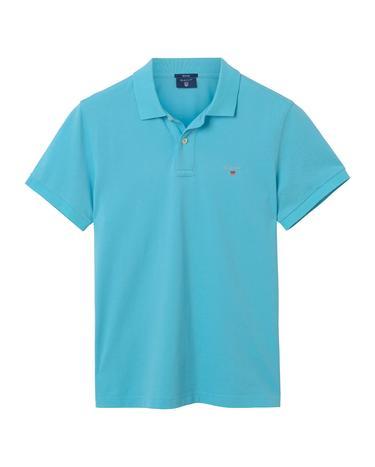 Erkek Mavi Regular Pike Polo