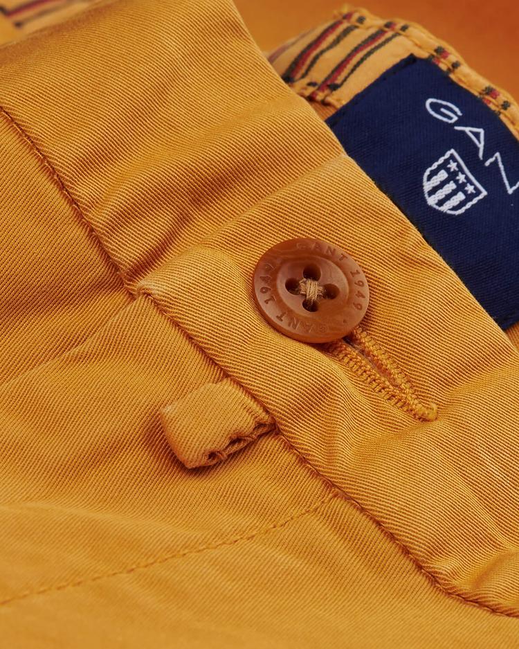 Gant Erkek Sarı Bermuda Şort