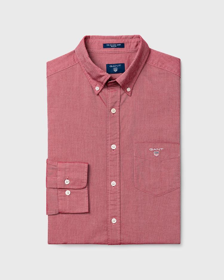 GANT Erkek Pembe Regular Oxford Gömlek