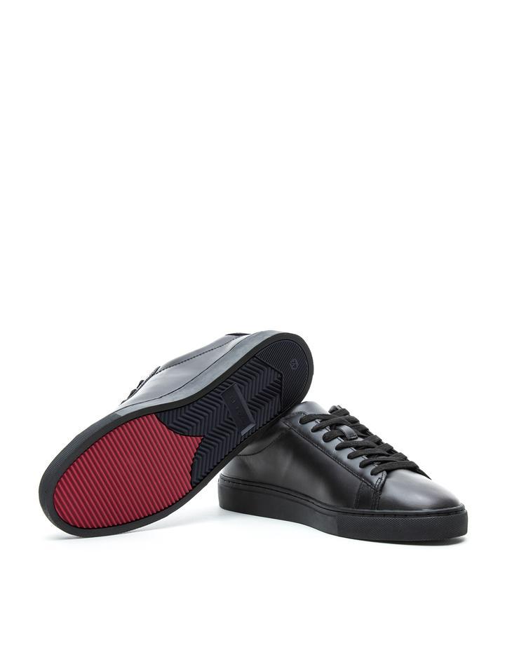 Erkek Siyah Major Sneaker