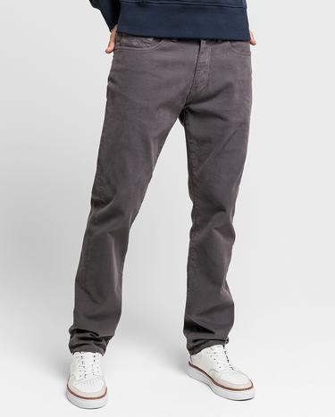 GANT Erkek Siyah Regular Fit Pantolon