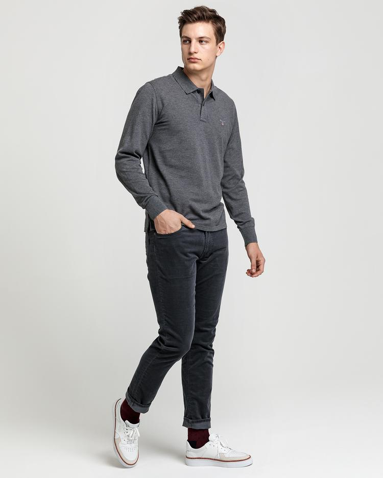 Erkek Uzun Kollu Regular Polo