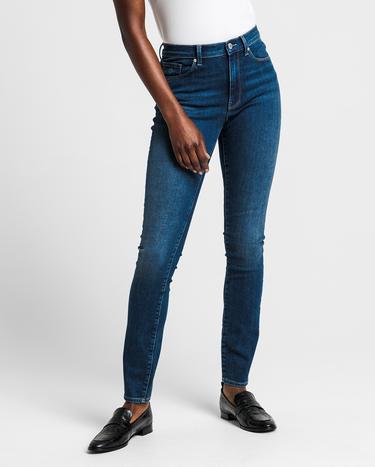 GANT Kadın Mavi Skinny Streç Denim Pantolon