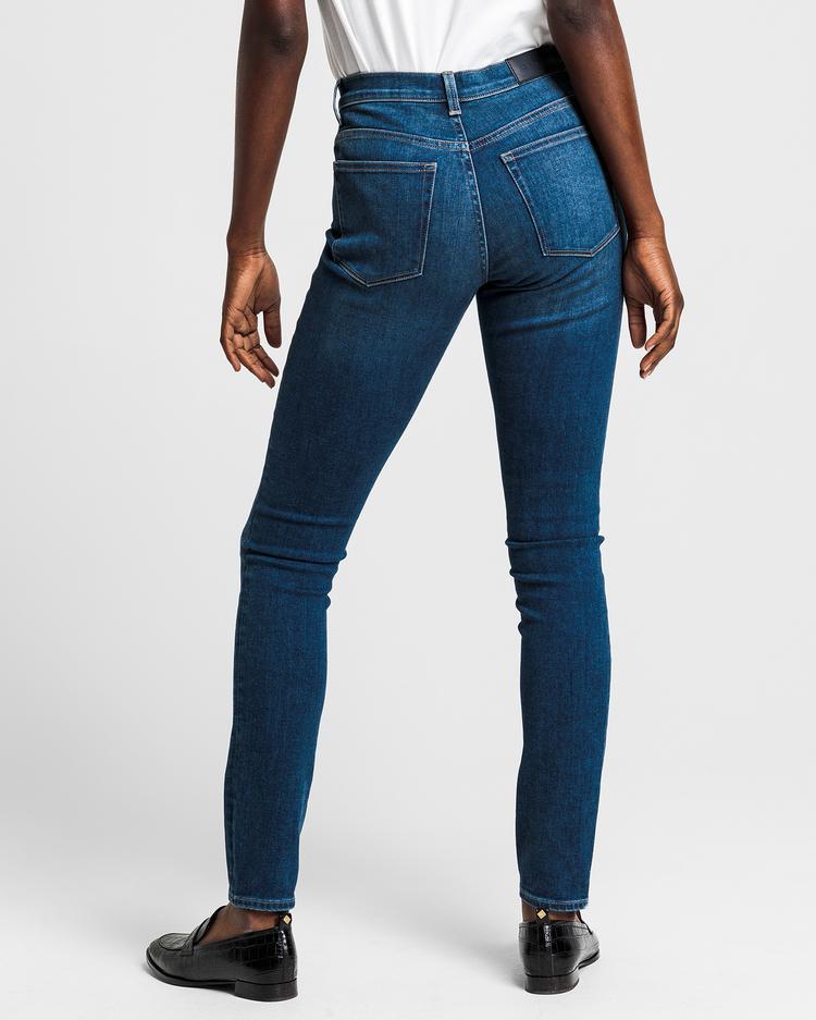 GANT Kadın Mavi Skinny Jean Pantolon