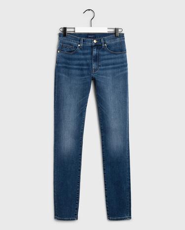 GANT Kadın Açık Indigo Skinny Streç Denim Pantolon
