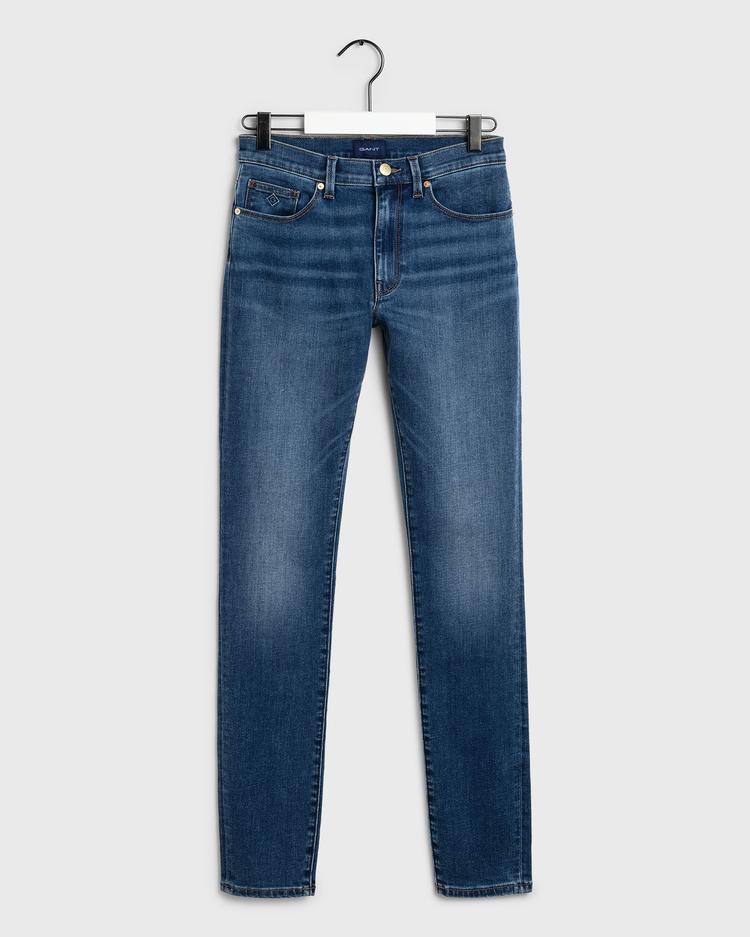 GANT Kadın Indigo Skinny Jean Pantolon