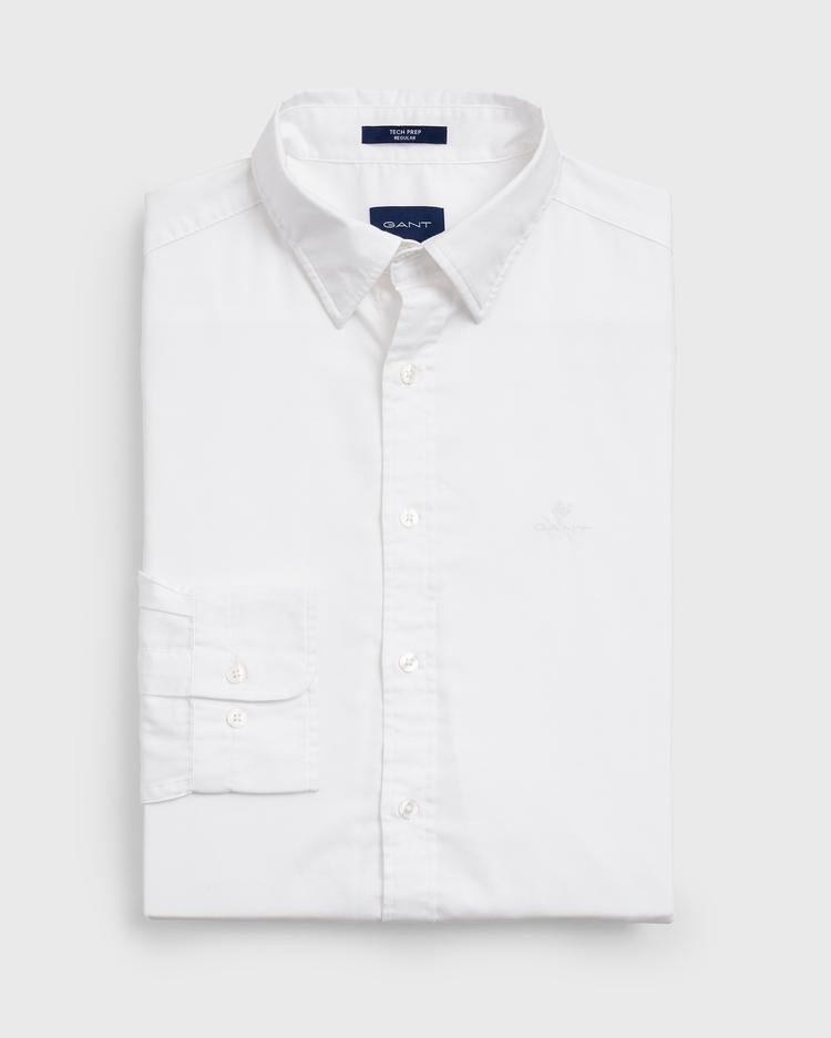Gant Erkek Tech Prep Beyaz Regular Oxford Gömlek