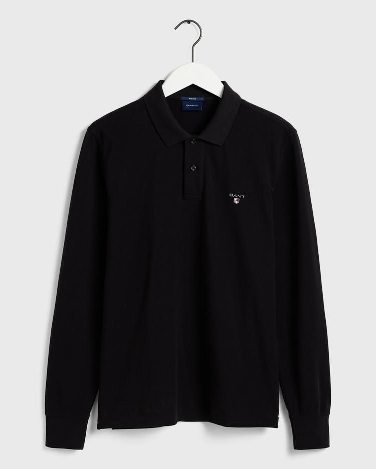 Gant Original Piqué Regular Erkek Siyah Polo