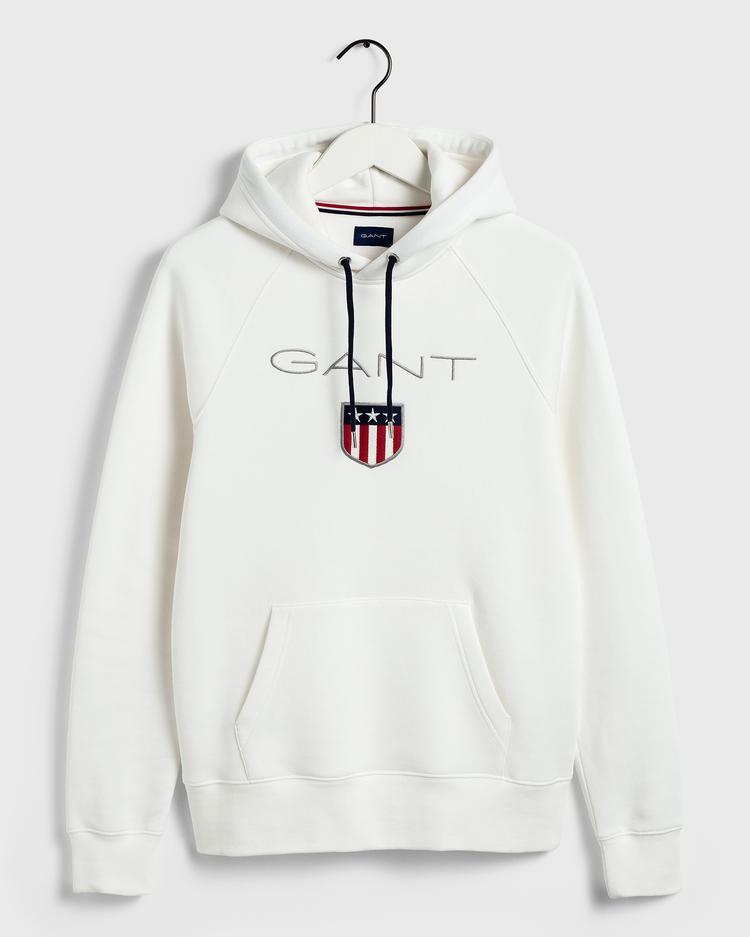 Gant Beyaz Erkek Sweatshirt