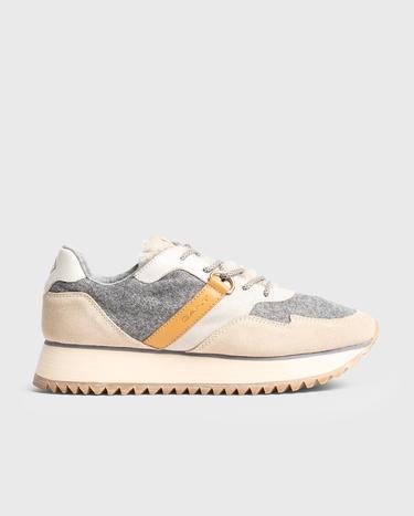 GANT Kadın Linda Bej Sneaker