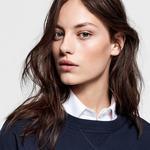 GANT Kadın Lacivert Relaxed Fit Sweatshirt