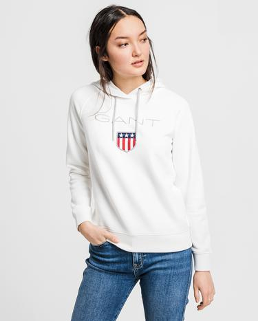 GANT Kadın Krem Regular Fit Sweatshirt