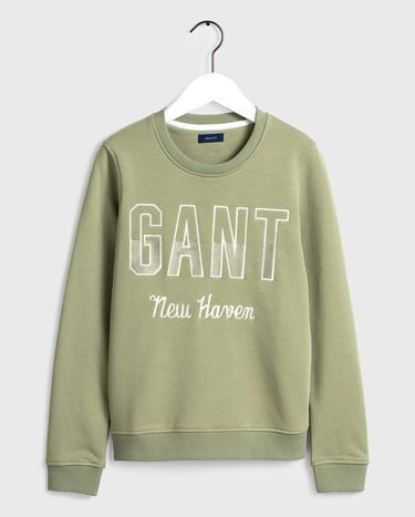 GANT Kadın Yeşil Sweatshirt