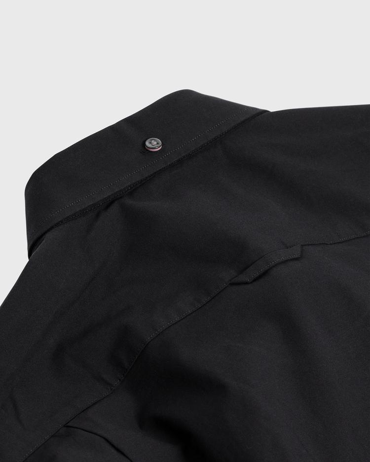 GANT Erkek Siyah Slim Fit Gömlek