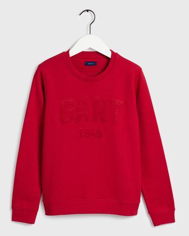 GANT Kadın Kırmızı Sweatshirt