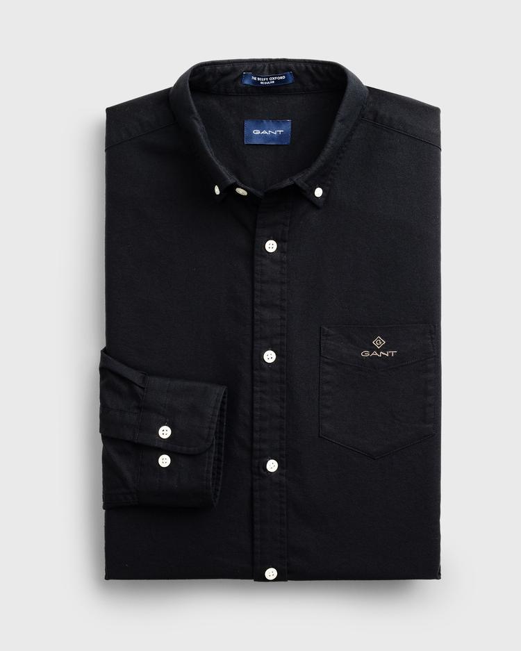 GANT Erkek Siyah Regular Fit Gömlek