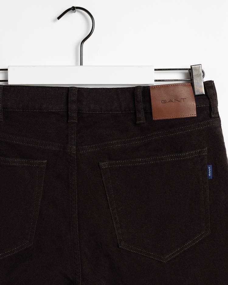 GANT Erkek Kahverengi Regular Fit Pantolon