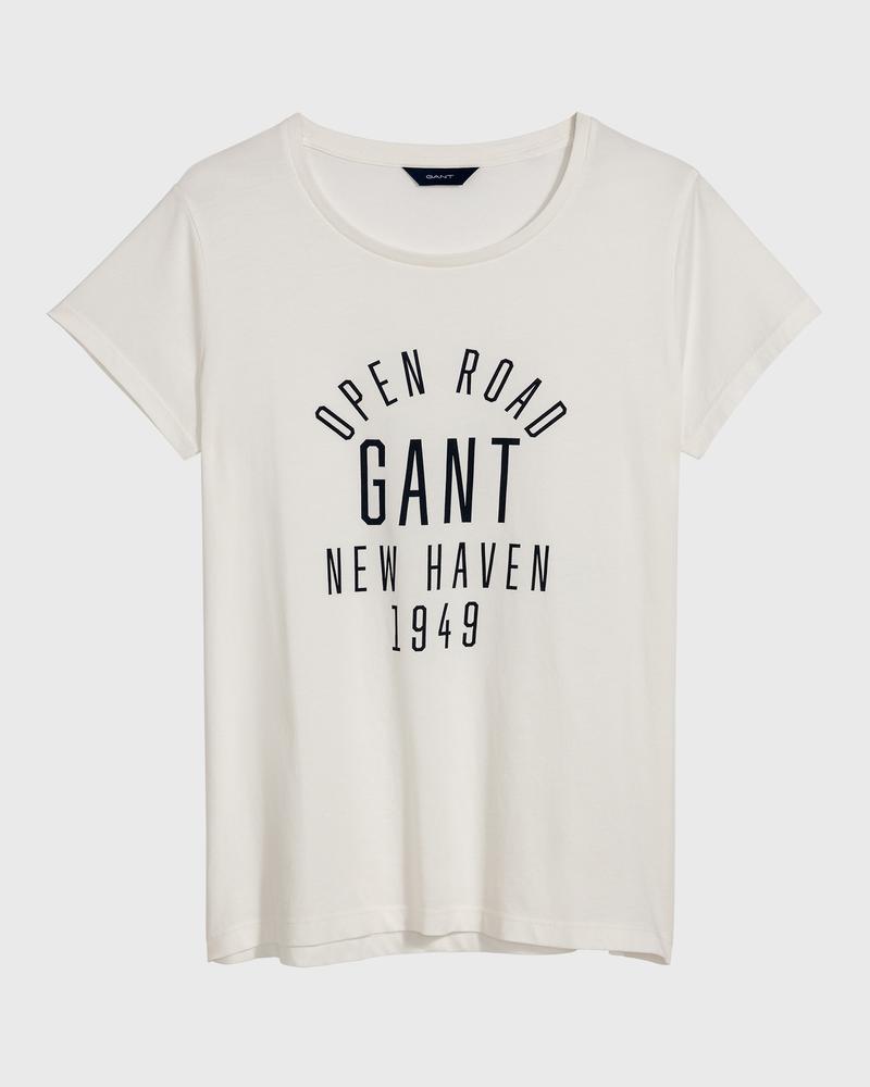 GANT Kadın Krem T-Shirt