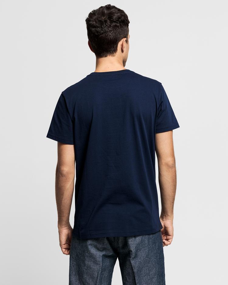 GANT Erkek Lacivert T-Shirt