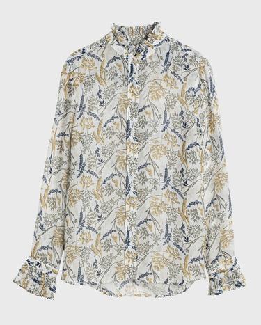 Gant Kadın Krem Gömlek