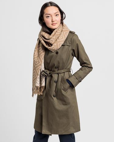 GANT Kadın Kahverengi Trençkot