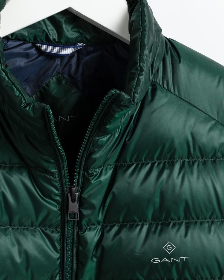 Gant Erkek Yeşil Kaz Tüyü Mont