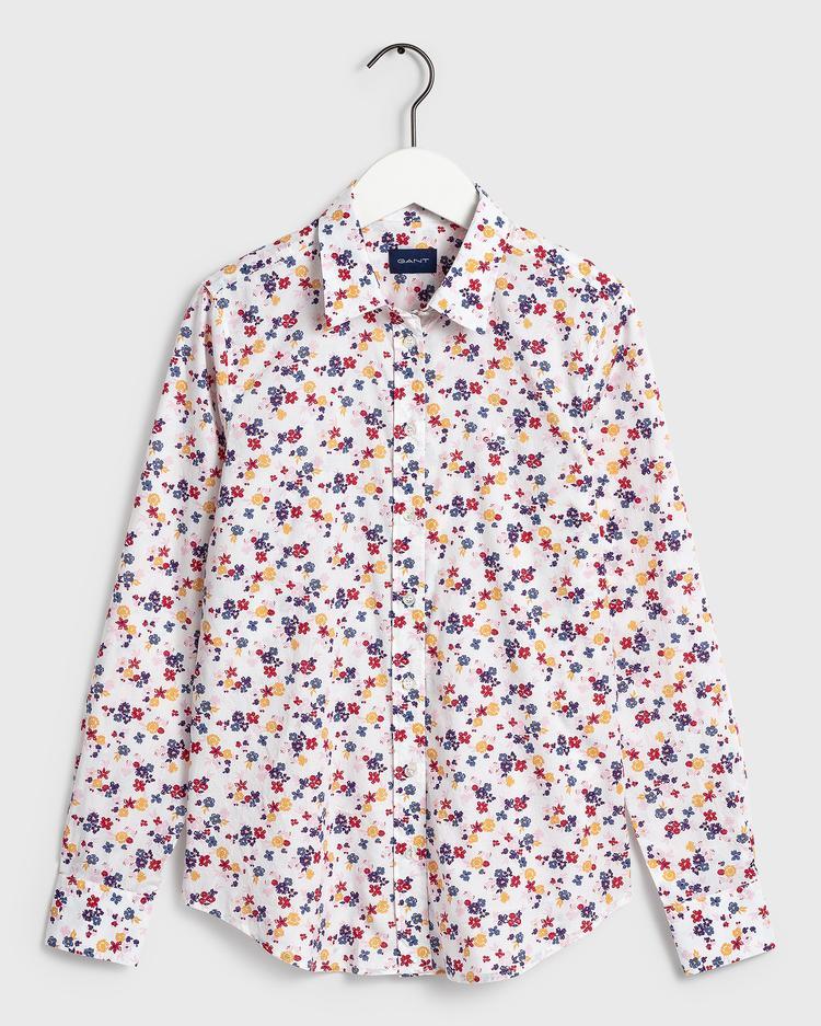 GANT Kadın Renkli Regular Fit Gömlek