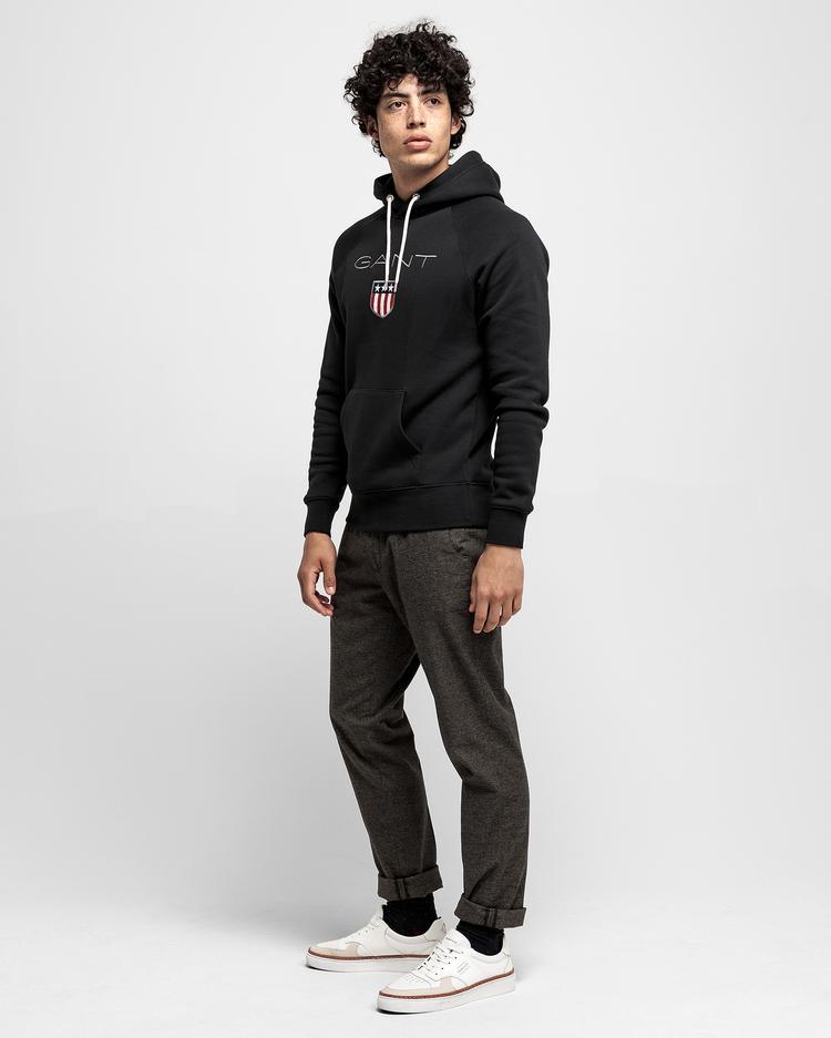 Gant Siyah Erkek Sweatshirt