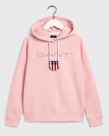 GANT Kadın Pembe Regular Fit Sweatshirt