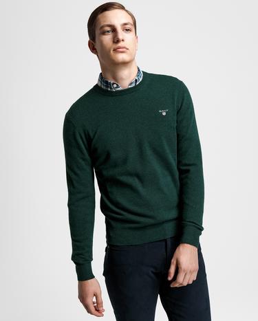 Gant Yeşil Erkek Triko Kazak