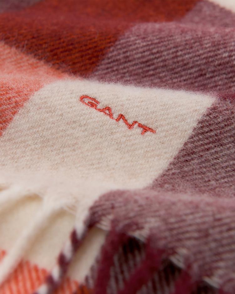 GANT Unisex Renkli Multicheck Scarf Atkı