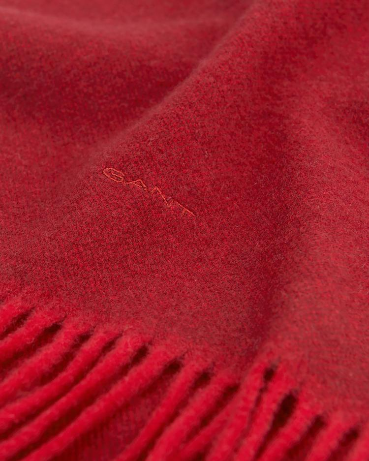 Unisex Bordo Oxford Weave Scarf Atkı