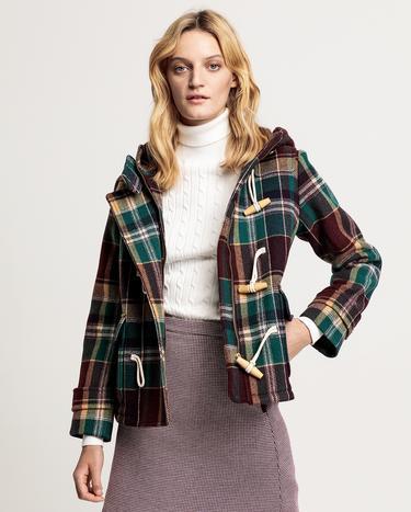 GANT Kadın Yeşil Yünlü Ceket