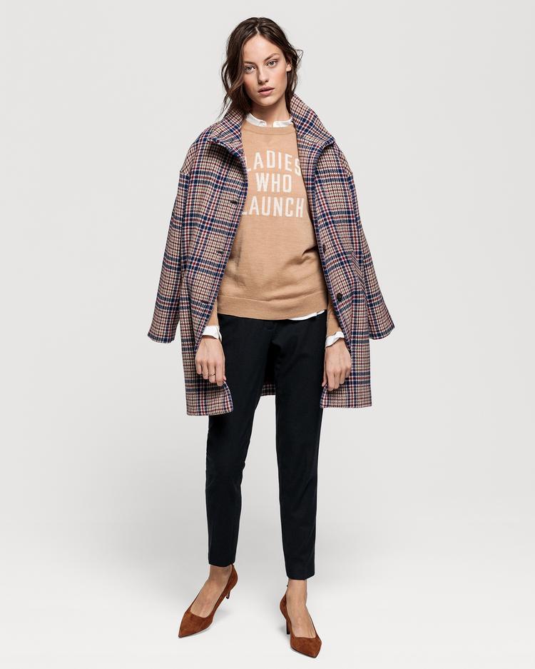 GANT Kadın Bej Yünlü Ceket