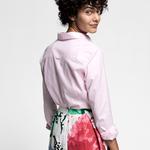 GANT Kadın Açık Pembe Stretch Oxford Gömlek