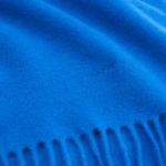 GANT Unisex Mavi Solid Lambswool Scarf Atkı