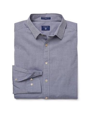 Gant Erkek Lacivert Fitted Gömlek