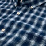 Erkek Lacivert Kareli Regular Gömlek