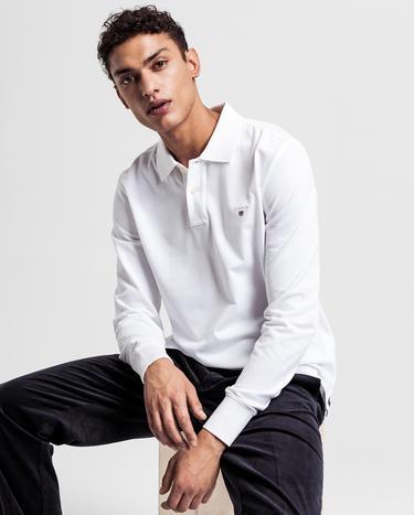 Gant Original Piqué Regular Erkek Beyaz Polo