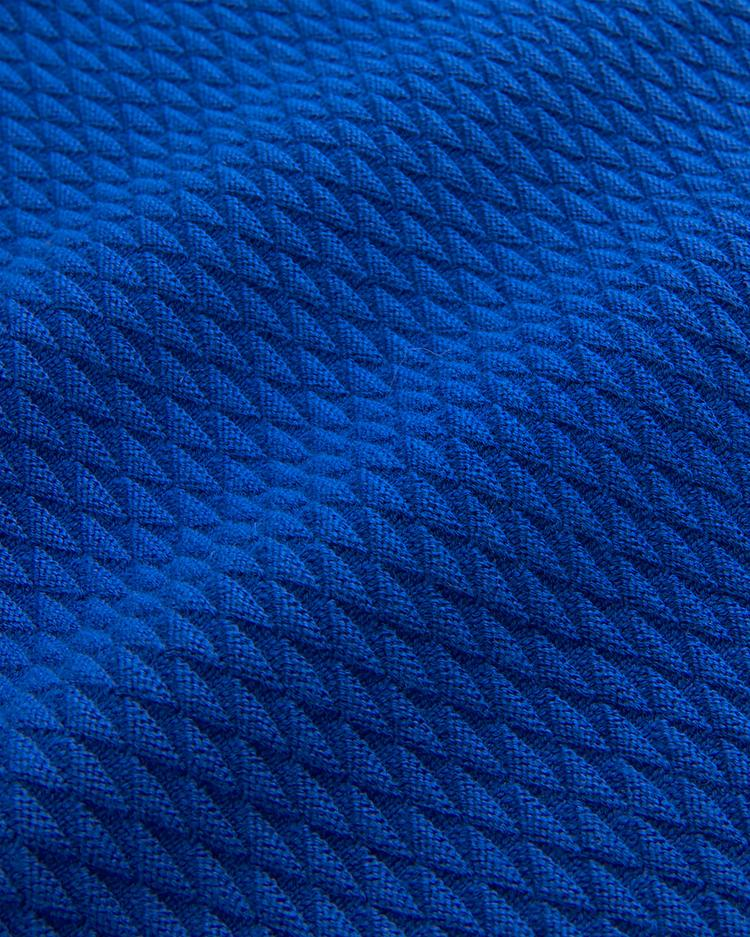 GANT Erkek Mavi Desenli Regular Triko Kazak