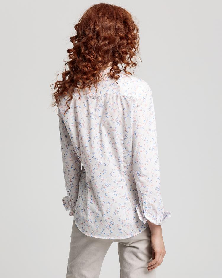 GANT Kadın Krem Regular Fit Gömlek