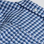 Gant Erkek Lacivert Regular Fit Kareli Gömlek