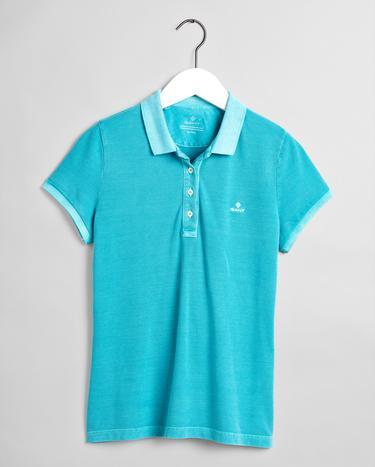 GANT Kadın Mavi Regular Fit Polo