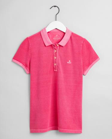 GANT Kadın Pembe Regular Fit Polo