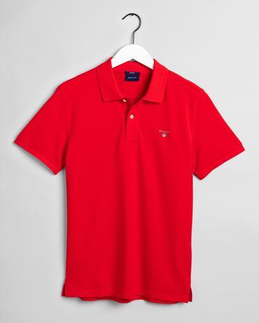 GANT Erkek Kırmızı Rugger Regular Fit Polo