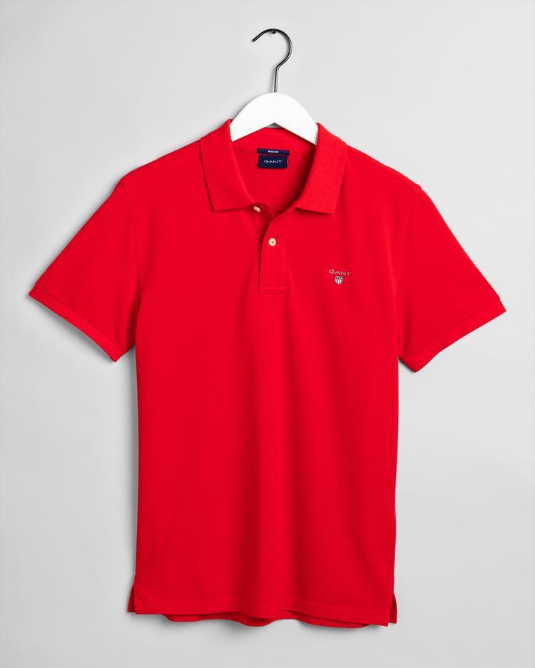 Gant Erkek Kırmızı Rugger Polo